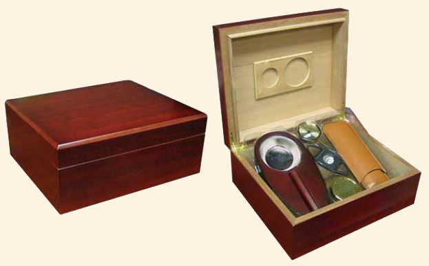 The Diplomat Humidor Combination Set...40 Ct.
